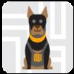 Seguridad privada con caninos